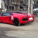Siêu xe Lamborghini Aventador mui trần nẹt pô trong triển lãm VIMS 2016