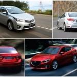 So sánh thông số kỹ thuật của Toyota Altis và Mazda 3 đời 2016