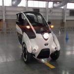 Đánh giá xe ô tô lai xe máy Toyota i-Road siêu nhỏ gọn