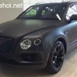 Xe siêu sang Bentley Bentayga độ đen nhám cực độc