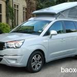 Xe Ssangyong Turismo Tourist Camper khách sạn SUV di động