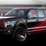 Xem gã bán tải khổng lồ Ford F150 độ Drift như xe thể thao