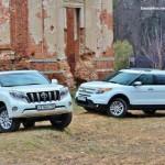So sánh Ford Explorer và Toyota Prado ở Việt Nam