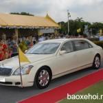 Dàn xe siêu sang của vua Thái Lan đã sử dụng