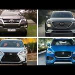Top 7 xe SUV hạng sang đẹp nhất tốt nhất 2016