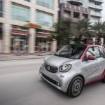 Ngắm xe sang Smart 2017 chạy điện