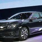 Honda thông báo xe Civic 2017 ở Việt Nam không bị lỗi phanh tay điện tử