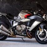 Siêu xe mô tô Drudi Burasca 1200 kiểu dáng tuyệt đẹp