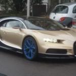 Siêu xe Bugatti Chiron độ vành xấu nhất