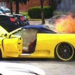 Người đàn ông vừa bị cháy siêu xe Ferrari vừa bị mất tiền