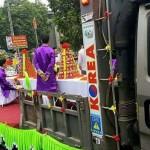 Xôn xao đám cưới tổ chức trên xe tải ở Vĩnh Phúc
