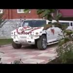 Đám cưới toàn siêu xe của đại gia ở nước cộng hòa Armenia