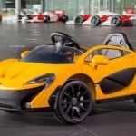 Video ấn tượng về siêu xe McLaren P1 chạy điện của em bé
