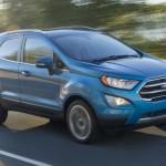 Chi tiết ảnh xe Ford EcoSport 2018 mới ngoài thực tế
