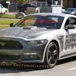 Xe Ford Mustang 2018 trên đường chạy thử
