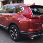 Nhận định ban đầu về cảm giác lái mẫu xe Honda CR-V 2017