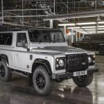 Ngắm chi tiết xe Land rover defender bản đặc biệt