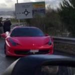 Siêu xe Ferrari 458 italia của Neymar bị tai nạn