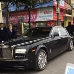 Xe siêu sang Rolls royce Phantom EWB thứ 2 về Hải Dương