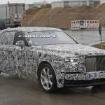 Xe siêu sang Rolls royce thay thế Phantom chạy thử nghiệm ?
