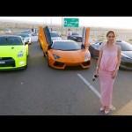 Cô gái con nhà giàu ở Dubai được thần tượng vì lái hàng loạt siêu xe