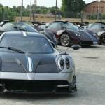 Dàn siêu xe khủng triệu đô tụ tập ở đại bản doanh của Pagani