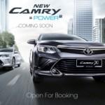 Toyota Camry phiên bản nâng cấp 2016 ra mắt ở Malaysia