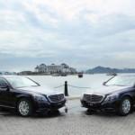 Resort 5 sao ở Nha Trang mua bộ đôi xe sang Mercedes S class