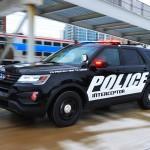 Chi tiết xe SUV Ford explorer Police interceptor utility của Cảnh sát Mỹ