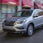 SUV cỡ lớn Honda Pilot 2017 giá từ 685 triệu đồng