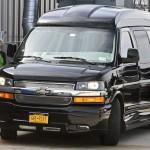 """Ngắm xe """"Scooby Doo"""" van của bà Hillary Clinton"""