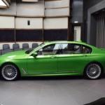 Siêu xe sedan BMW Alpina B7 2017 màu xanh tuyệt đẹp