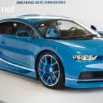 Siêu xe Bugatti Chiron chính hãng sắp tới Nhật Bản