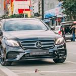 Xe sang Mercedes E300 2017 mới cứng xuất hiện ở Lào Cai