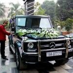 Dàn xe sang làm xe dâu trong đám cưới tuyệt đẹp ở Phú Thọ