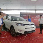 Cuối năm mua xe SsangYong ở Việt Nam có nhiều ưu đãi