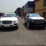 Cặp xe siêu sang SUV Bentley Bentayga giá 20 tỷ về Việt Nam