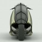 Siêu xe mô tô GyroCycle tự cân bằng độc đáo