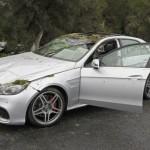 Siêu xe Mercedes E63 AMG phóng nhanh mất lái đâm chết 1 người