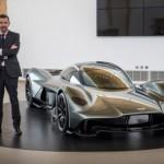 Siêu xe Aston Martin AM-RB 001 tốc độ rất nhanh