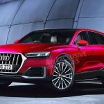 Nhiều ảnh dự đoán về hình dáng xe Audi Q8 2017