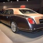 Xe siêu sang Bentley Mulsanne EWB được vinh danh