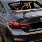 Siêu xe BMW M4 GTS tai nạn hư hỏng nặng nề