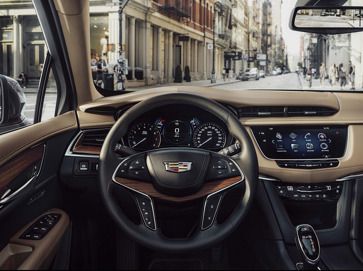 The first-ever 2017 Cadillac XT5 luxury crossover is the cornerstone of a new series of crossovers in the brand's ongoing expansion. The first-ever XT5 premieres in November 2015 at the Dubai and Los Angeles auto shows and begins production in the U.S. and China in spring 2016.