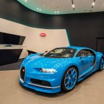 Siêu xe nhiều triệu đô Bugatti Chiron chính hãng đến Đài Loan