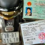 Từ ngày 1/1/2017 người đi xe máy không chính chủ tự tìm chủ cũ để sang tên