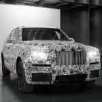 Xe siêu sang SUV Rolls-Royce Cullinan lộ diện