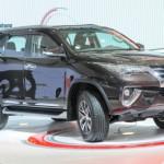 Xe Toyota Fortuner mới ra mắt Việt Nam tháng 1/2017