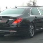Mercedes chính thức nhận đặt hàng xe siêu sang Maybach S400