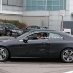 Lộ ảnh xe sang Mercedes E class coupe chạy thử